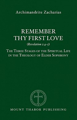 A profound description of the three stages in the Christian life according to Elder Sophrony of Essex (†1993), disciple of St. Silouan the Athonite (†1938). $27.95 from Mt Thabor Press.