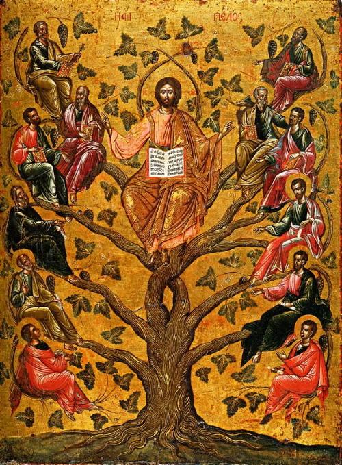 Christ the True Vine (Athens, 16th c.)