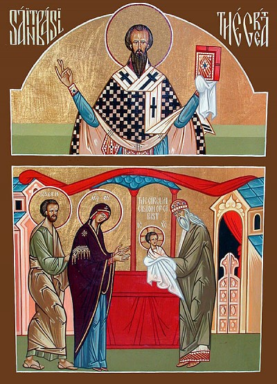 Together with St Basil the Great, the Circumcision of Christ is commemorated on January 1.