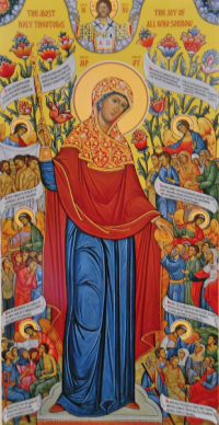Icon of the Theotokos, 'Joy of All Who Sorrow'