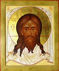 The Patronal Icon of our Parish, by the hand of Fr. Andrew Tregubov