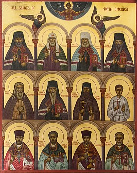 Synaxis of N. American Saints