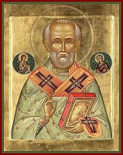 St Nicholas Vesperal Liturgy, Mon Dec 5, 6pm, Akathist Tue Dec 6, 7am
