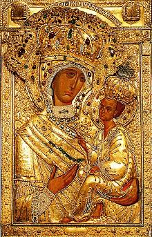 The Tikhvin Icon of the Theotokos