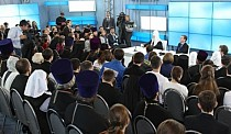 The Public Forum at the Orthodox Rus Exhibition
