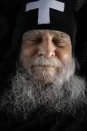 Blessed Elder Joseph of Vatopedi in Repose